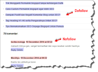Link ialah sebuah kata atau sederetan kata dalam sebuah halaman web yang terhubung dengan APA PERBEDAAN BACKLINK DOFOLLOW DAN NOFOLLOW ?