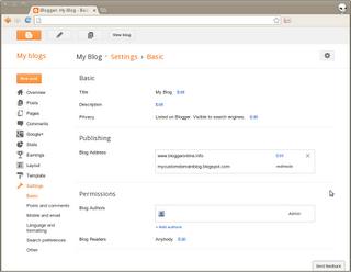 Configurer votre nom de domaine sur blogger