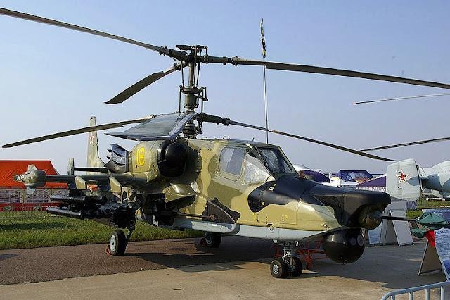 Gambar 12. Foto Helikopter Tempur Kamov Ka-50 Black Shark