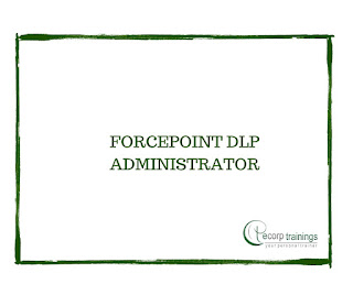 FORCEPOINT DLP ADMINISTRATOR
