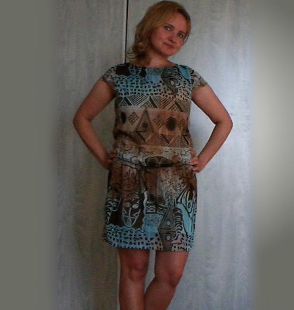 prosta sukienka z Burdy
