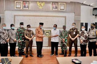 Walikota Padang Kunjungi Pemko Medan Cari Informasi Terkait Percepatan Penanganan Covid-19