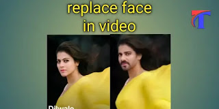 Face replace in video