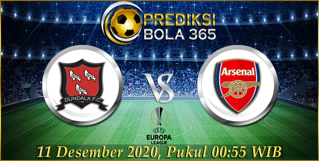 Prediksi Dundalk FC Vs Arsenal UEFA Europa League 11 Desember 2020