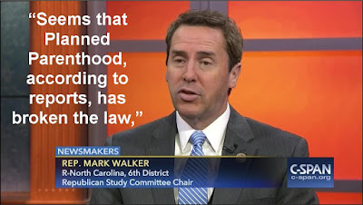 Rep. Mark Walker: Investigate Planned Parenthood's sex abuse cover-up
