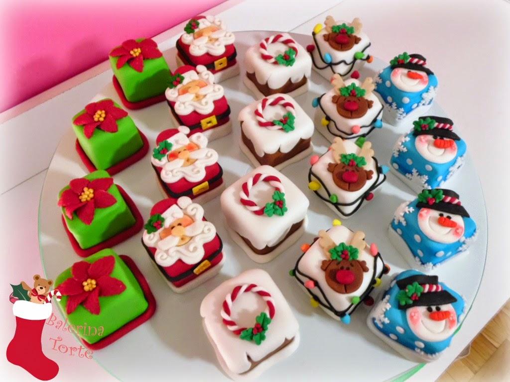 M S Santa Christmas Cake