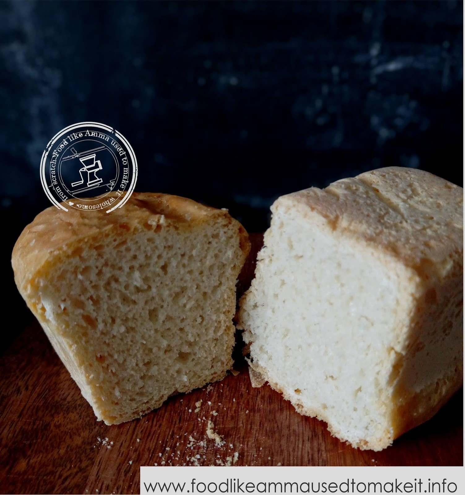 bread recipe for bunny chow