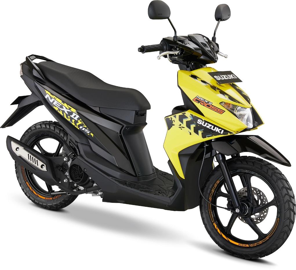 Suzuki Ciptakan NEX II Cross, Gaya Baru Berpetualang Generasi Muda
