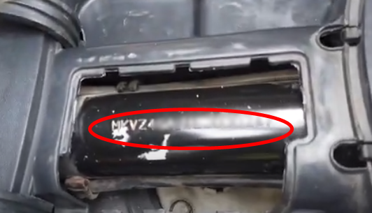Letak Nomor Rangka dan Nomor Mesin SYM GTS 250
