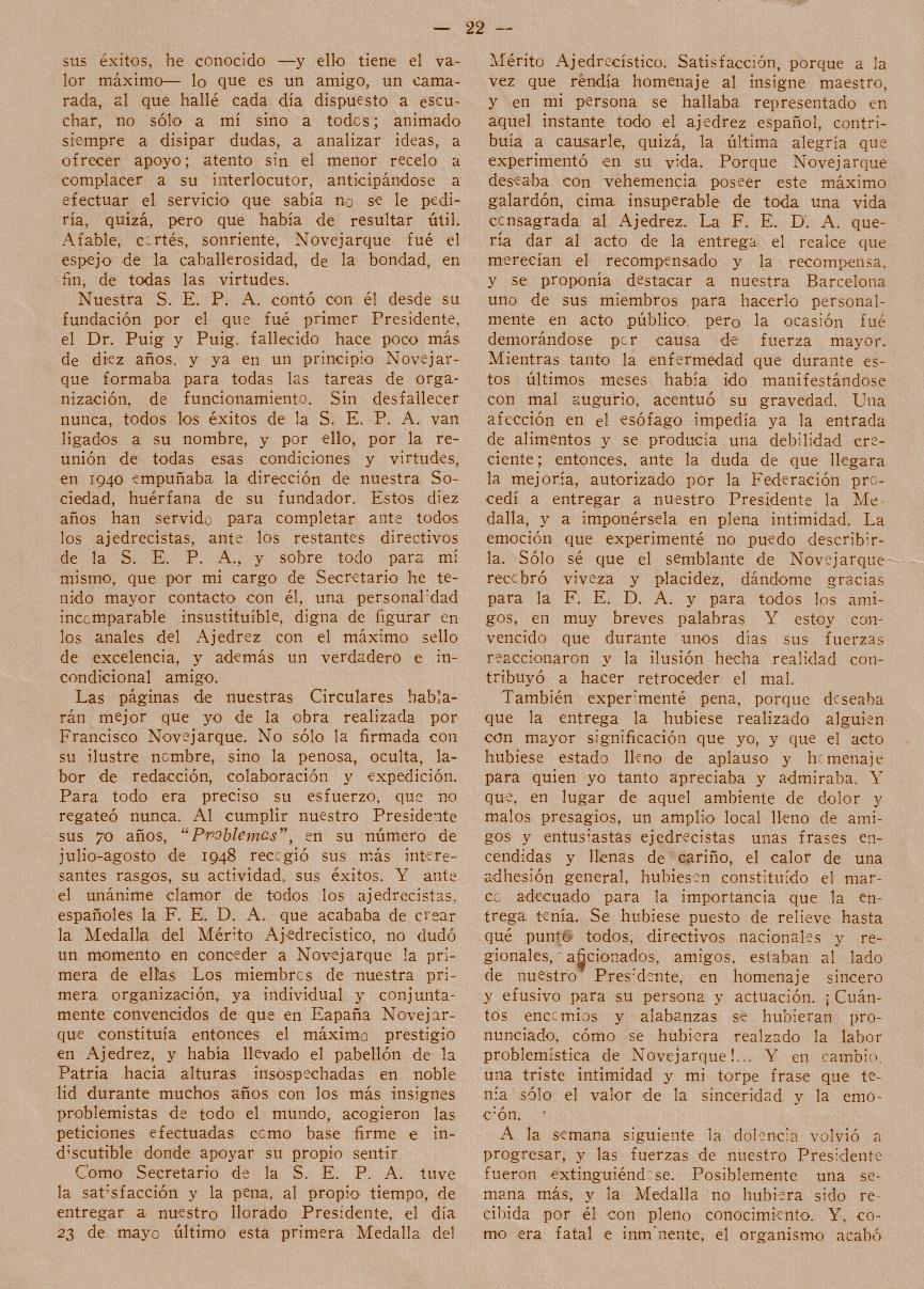 Revista Problemas, mayo/junio 1950, página 22