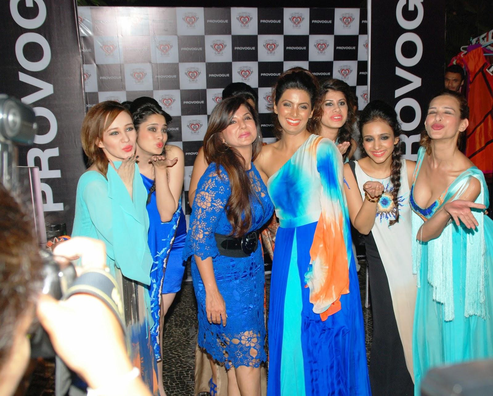 Stephanie Timmins with designer Babita Malkani