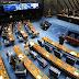 Senado vota projetos referentes à legislação eleitoral. Entre os PLs aprovados está a volta da propaganda política.