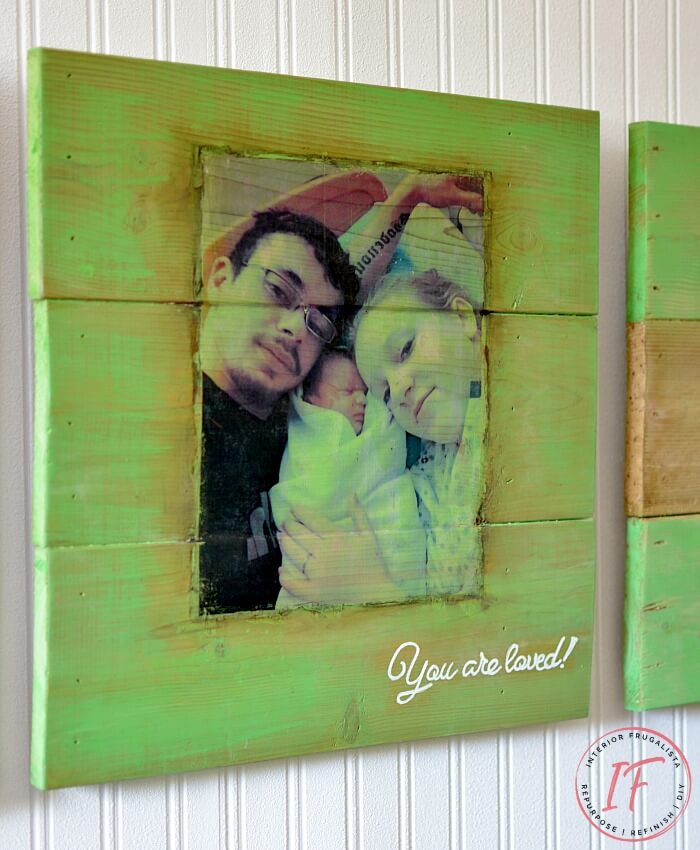 Photograph Transfer On Wood DIY Wall Art