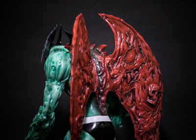 Devilman Vinyl Figure by Mike Sutfin x Unbox Industries