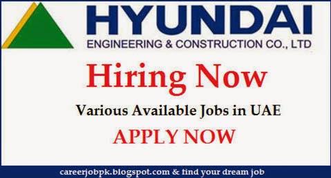 Jobs in Hyundai Engineering UAE
