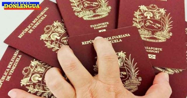 El Pasaporte Venezolano es uno de los más caros del mundo