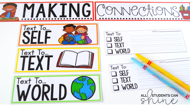 guided reading making connections