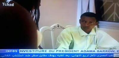 تليفزيون تشاد يعلن فوز مصر على غانا