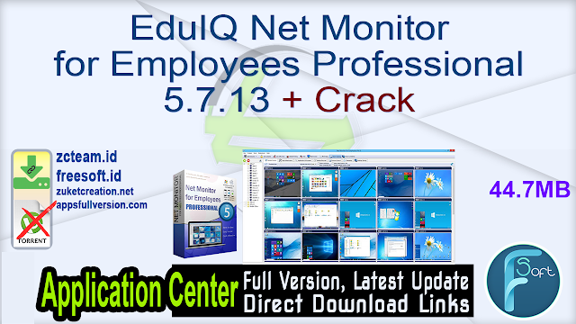 EduIQ Net Monitor for Employees Professional 5.7.13 + Crack_ ZcTeam.id