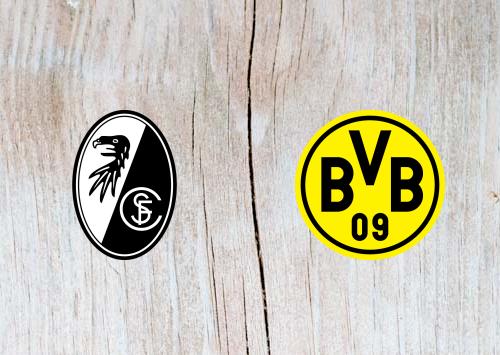 Freiburg vs Borussia Dortmund Full Match & Highlights 21 April 2019