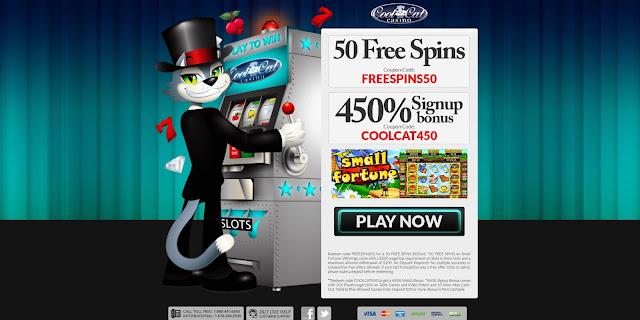 Casino bonus USA: Cool Cat casino bonus codes