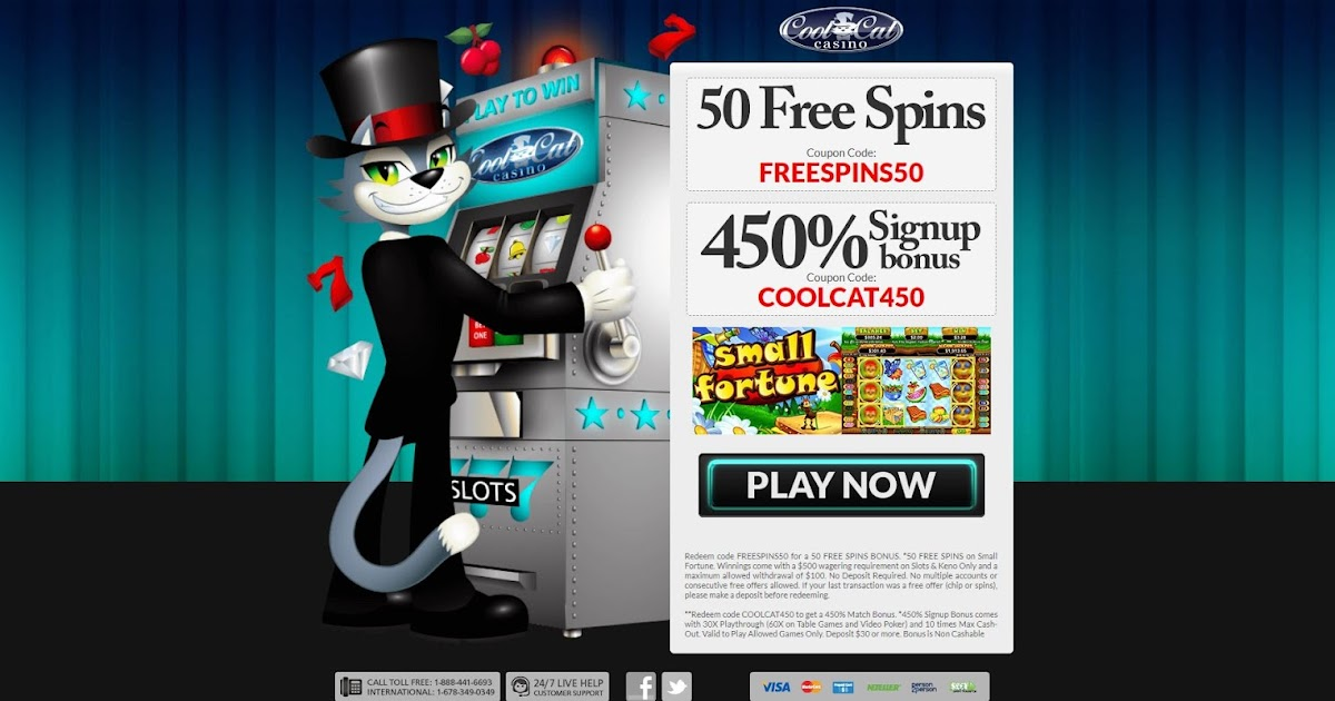 Casino Bonus Usa Cool Cat Casino Bonus Codes