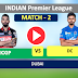 Delhi vs Punjab, 2nd Match - Live Cricket Stats, Kings XI Punjab have won the toss and have opted to field