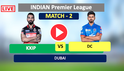 elhi vs Punjab, 2nd Match - Live Cricket Stats, Kings XI Punjab have won the toss and have opted to field