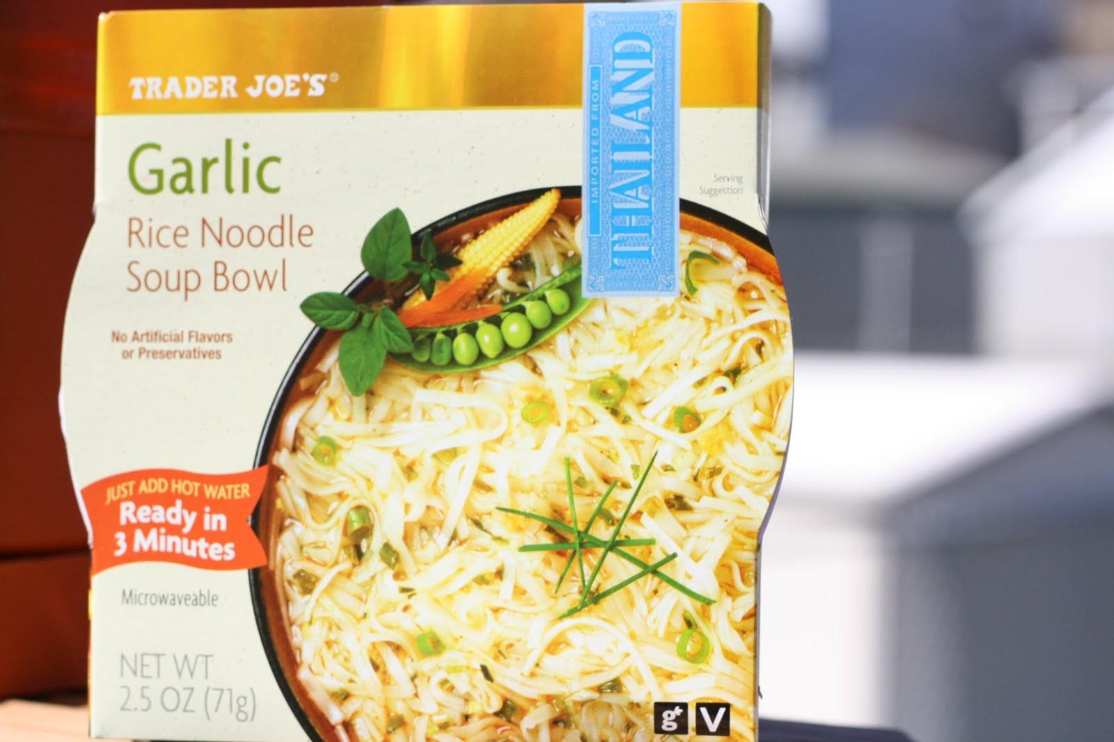 What S Good At Trader Joe S Trader Joe S Rice Noodle Soup Bowls