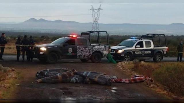 25 capturados e interrogados por el Cártel de Sinaloa aparecen ejecutados en Zacatecas