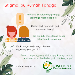 Stigma ibu rumah tangga