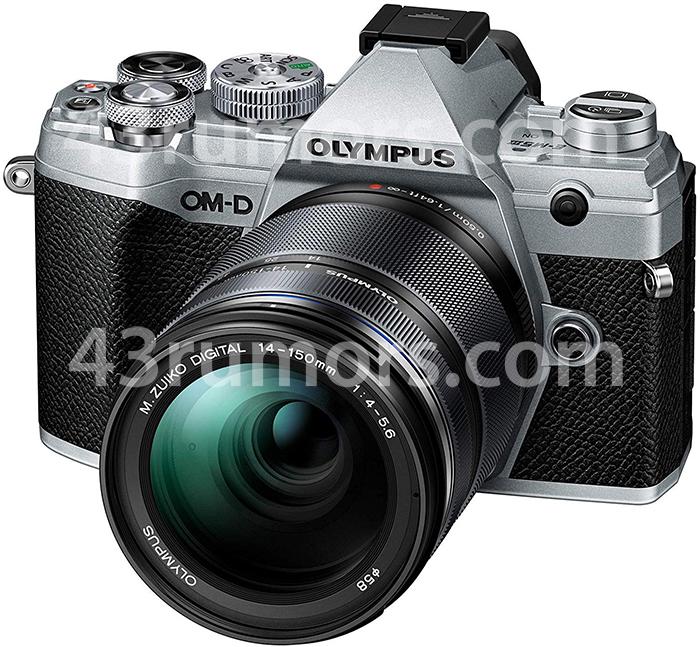 Olympus OM-D E-M5 Mark III с объективом