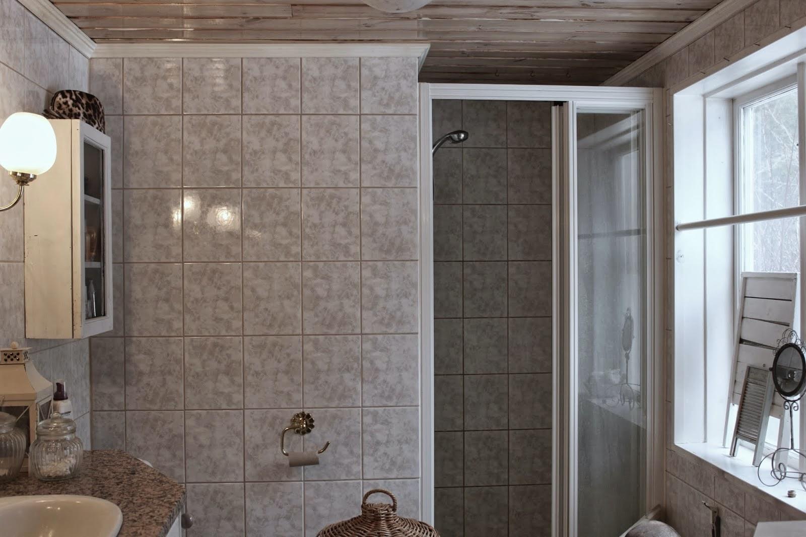 Sallys hus: golvet i tvättstugan