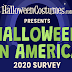 Halloween in America 2020 Survey #infographic