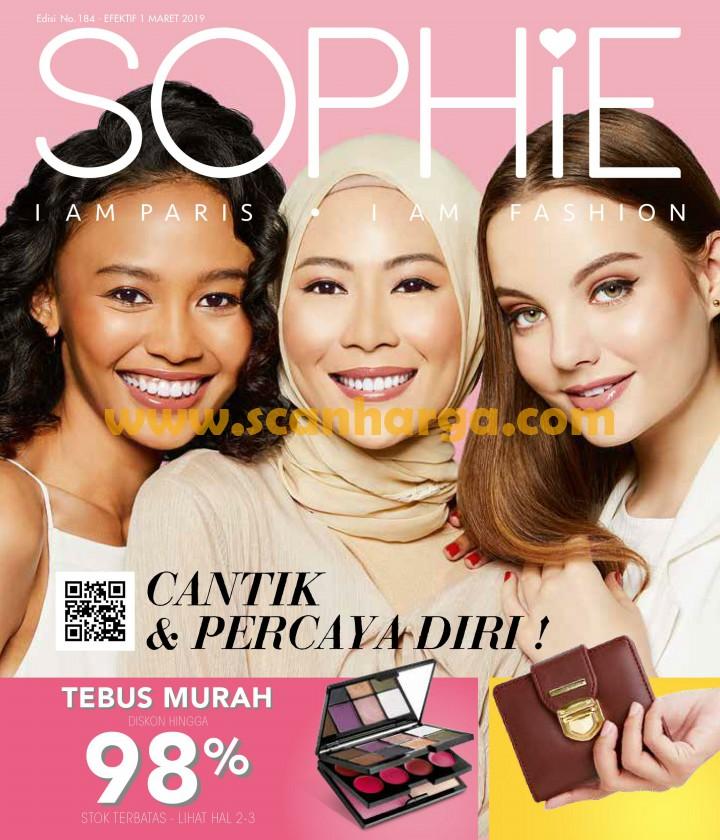 √ Katalog Sophie Martin Maret 2019 Terbaru Edisi 184 - scanharga ... eb2a664829