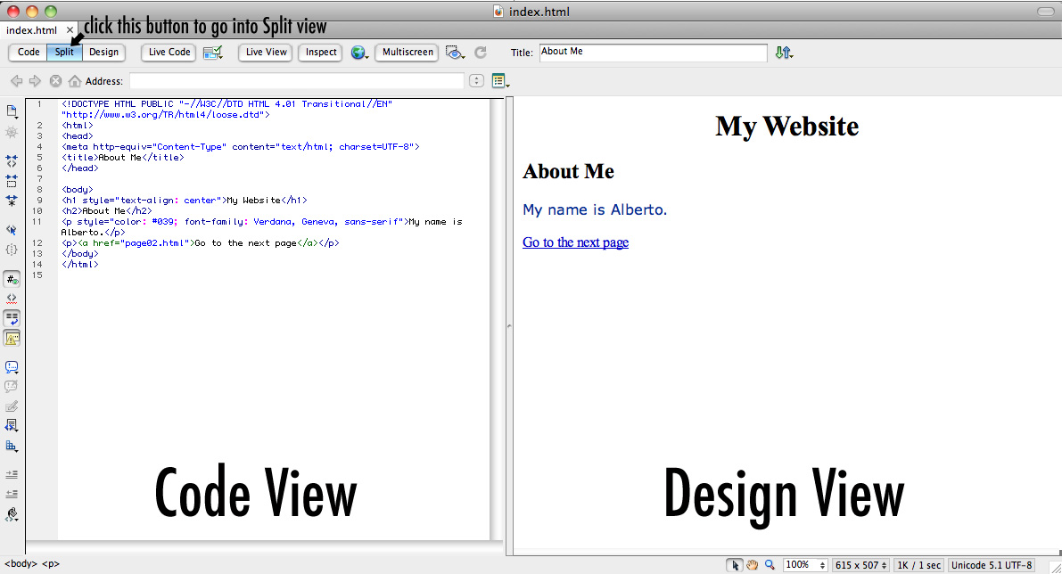 Learn how to create a website with adobe dreamweaver cs5.