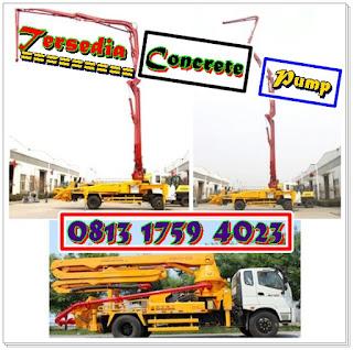 Harga Rental Pompa Beton / Concrete Pump Jakarta Utara