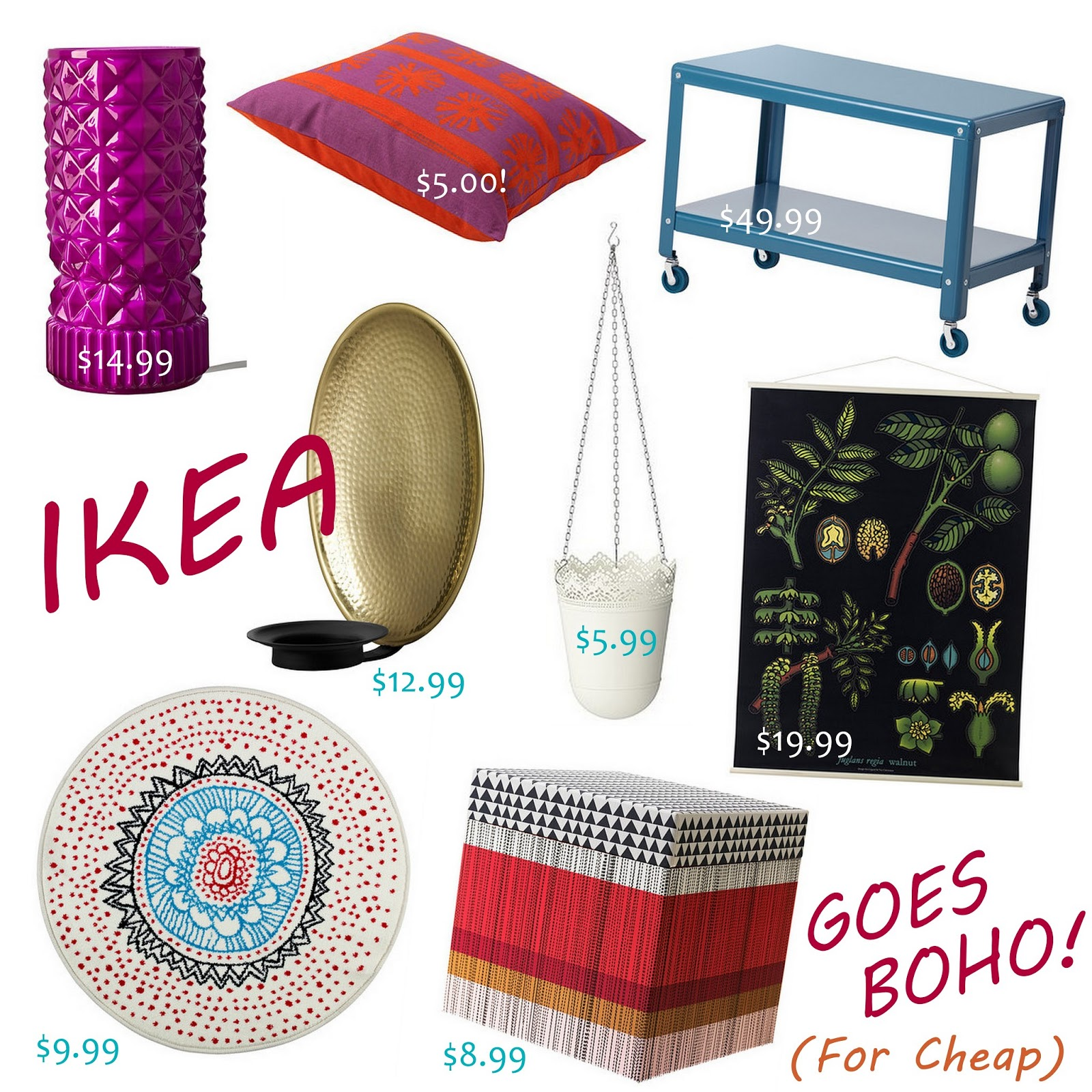 GYPSY YAYA: Ikea Bohemian Home Accessory Round-Up!