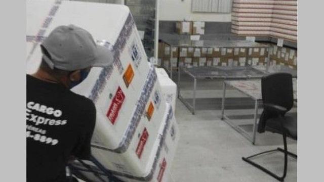 Paraíba recebeu mais de 75 mil doses de vacinas contra a covid-19 neste sábado (24)