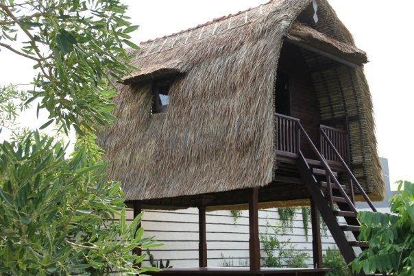 Rumah Adat Bali Jineng