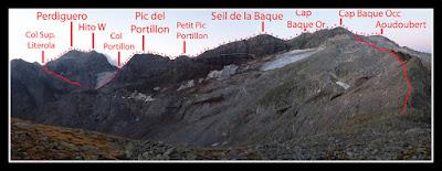 Cresta Seil de la Baque - Perdiguero