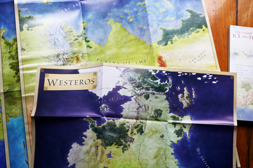 The Wertzone The Lands Of Ice And Fire By George R R Martin