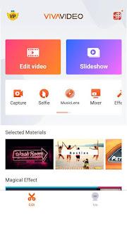 cara menggabungkan video di Android