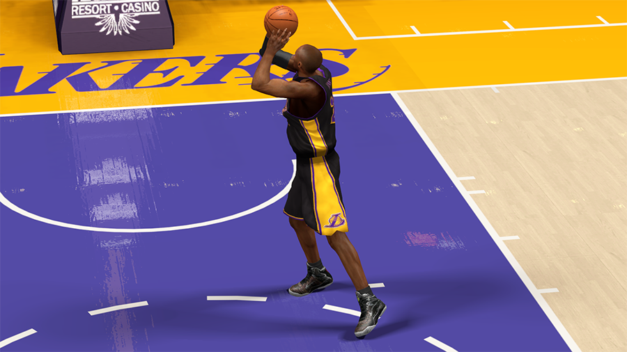 NBA2K14 high cut shoes Kobe 9
