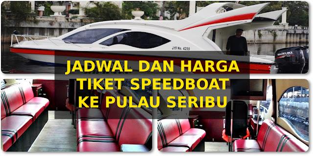 harga tiket dan jadwal speedboat