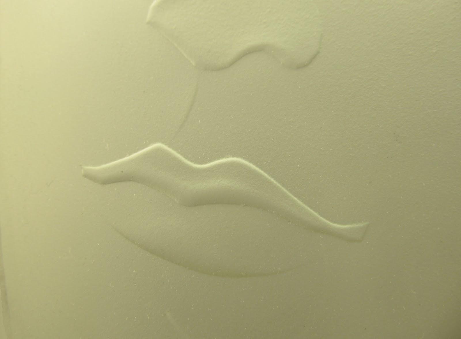 anděl  vitrážové zrcadlo v koupelně