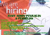 We Are Hiring at PT. Karunia Mas Sejahtera Surabaya Februari 2021