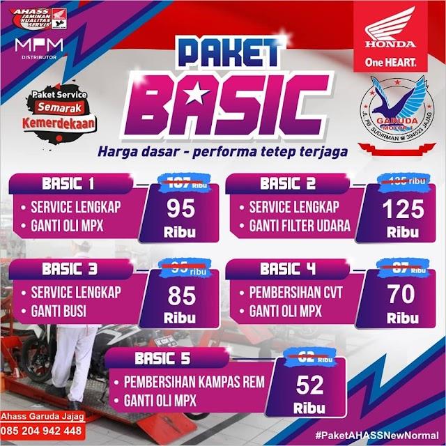 Paket Basic Service Diskon Harga Spesial Kemerdekaan