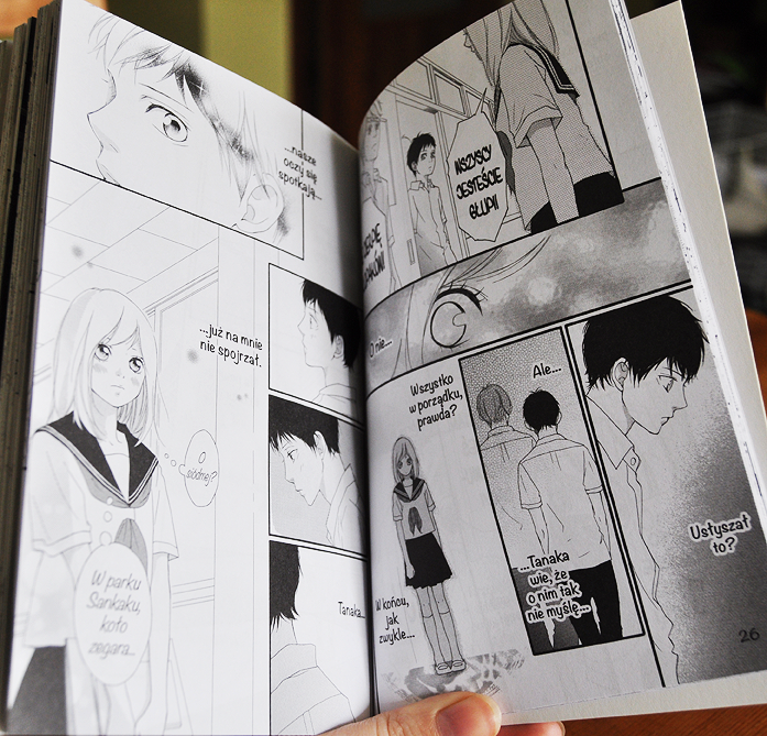 Recenzja Ścieżki Młodości, Ao Haru Ride, Sakisaka Io