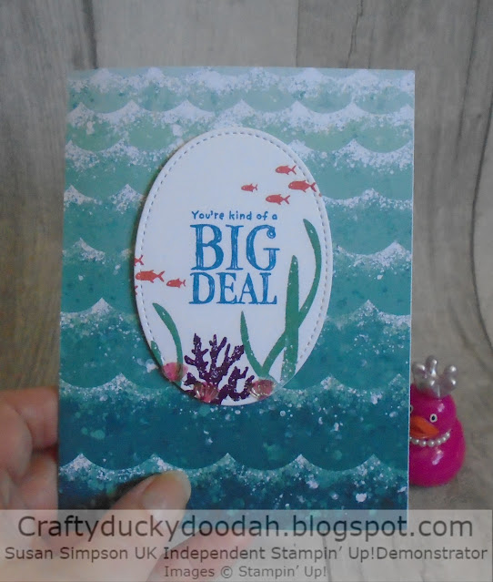 Craftyduckydoodah, Whale Done, Whale Of A Time Suite, Stampin' Up,